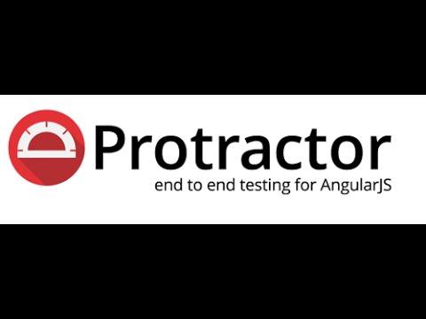 Protractor Tutorial - Protractor Webstorm Plugin Integration