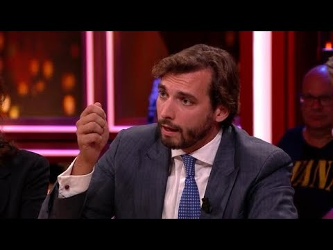 Thierry Baudet gelooft niet in klimaatmaatregelen: &39;Groene gekte&39; - RTL LATE NIGHT MET TWAN HUYS