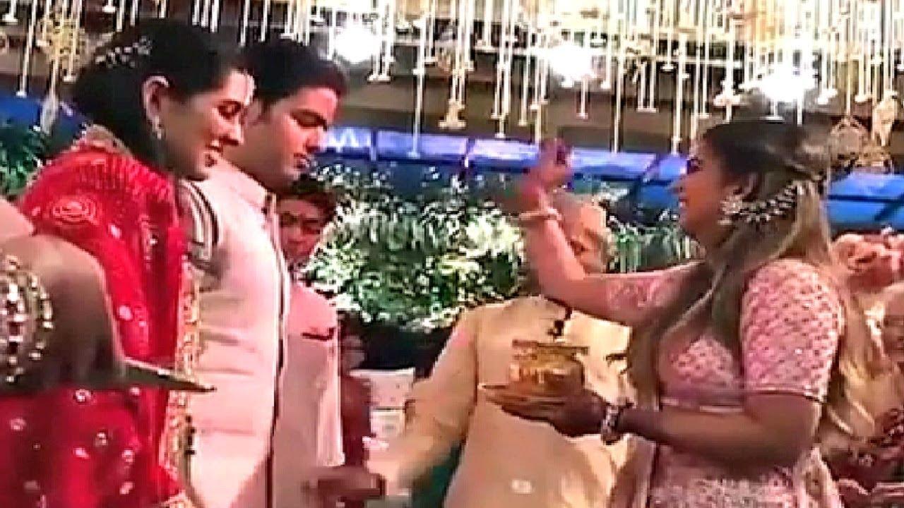 Akash Ambani And Shloka Mehta Engagement Inside Video