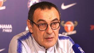 Maurizio Sarri Full Pre-Match Press Conference - Chelsea v Tottenham - Kepa Made A