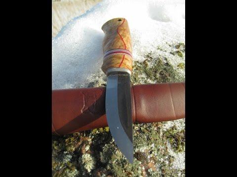 Colorful Roselli Carpenter puukko knife