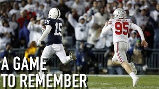 A Game to Remember: Penn State vs. Ohio State