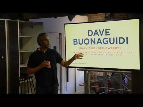 International Creatives London | MeetUp VII at CP+B | David Buonaguidi