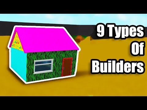9 Types of Bloxburg Builders! • Roblox