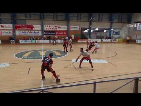 J9 Championnat de France N1 Elite Rink Hockey 2017-2018 : La Vendéenne 5-2 AL Plonéour-Lanvern