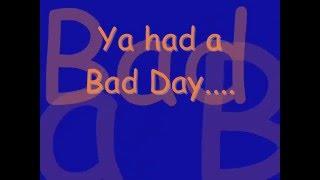 Bad Day Lyrics