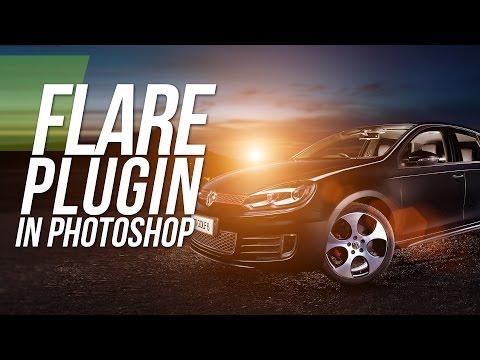 Flare Plugin - Knoll Light Factory - Photoshop Tutorial
