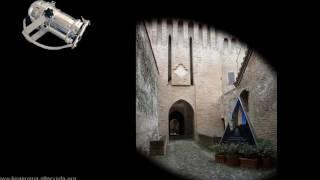 La scala a chiocciola di Palazzo Barozzi e la Rocca di Vignola.avi