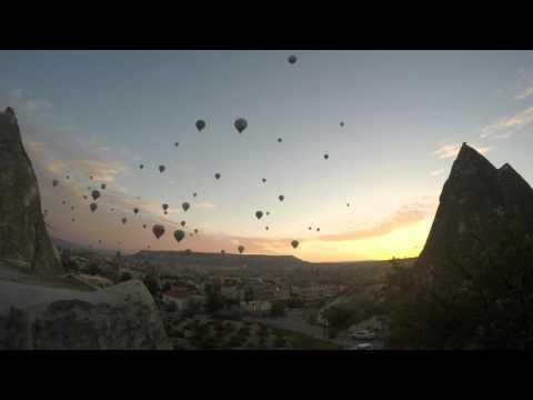 2014 Turkey Cappadocia balloon TimeLapse