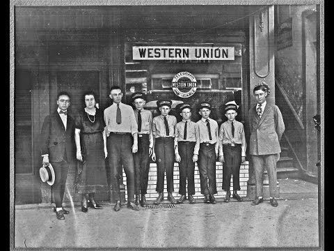 First 100 Years: Western Union  Telegraph to Fax 1950s