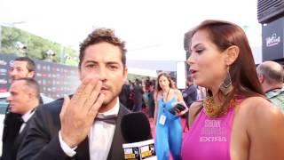David Bisbal / Rebeca Liscano / Premios Platino