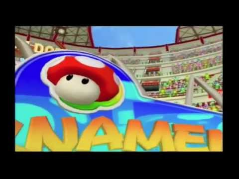 Mario Power Tennis ~ Tournament - Mushroom Cup (SIngle / Double)