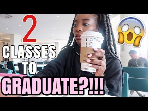 ONLY NEED TWO MORE CLASSES TO GRADUATE!? | Law School / Grad School VLOG