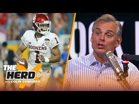Colin Cowherd reveals his 2019 NFL Mock Draft   NFL   THE HERD