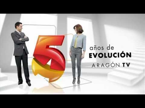 Aragón TV - Cortinillas 5 años Presentadores