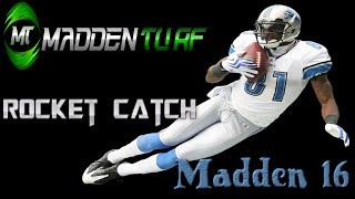 Madden 16 Aggressive Catch | Rocket Catch | User Catch Tutorial