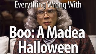 connectYoutube - Everything Wrong With Boo: A Madea Halloween