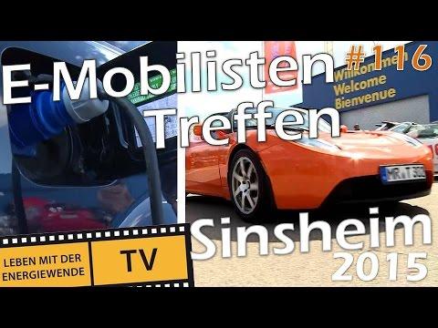 E-Mobilisten Treffen in Sinsheim 2015