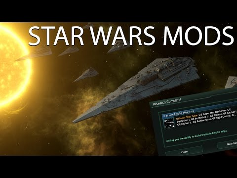 Stellaris - Star Wars - Super Star Destroyer? I hardly knew her!