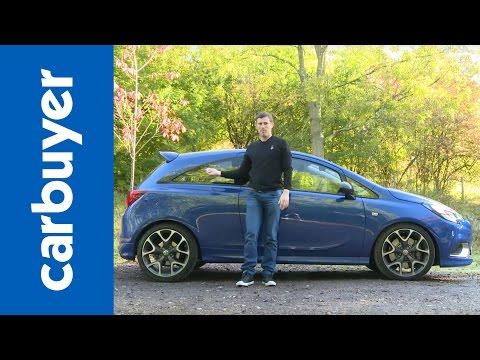 Vauxhall Corsa VXR 2015 review - Carbuyer (Opel Corsa OPC)