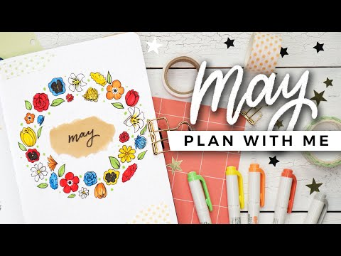 PLAN WITH ME | May 2020 Bullet Journal Setup