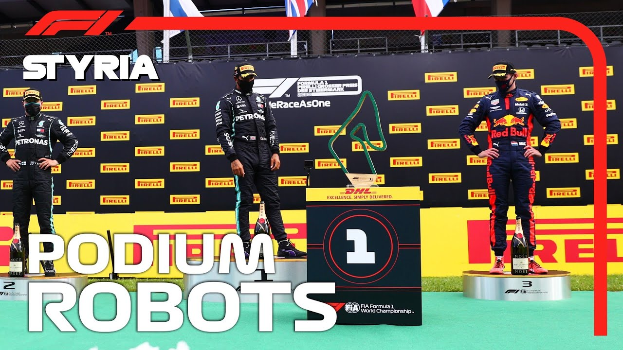 Podium Robots 2020 Styrian Grand Prix Youtube