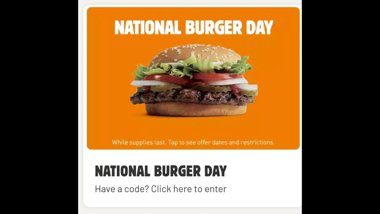 National Burger Day 2020: Freebies, deals and specials