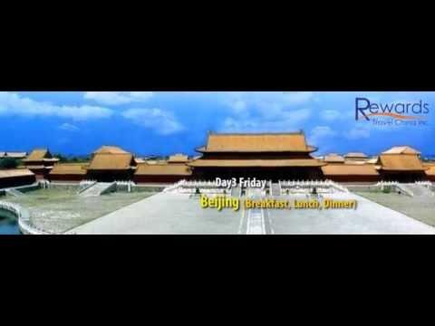 Rewards Travel China Beijing & Xian 8 days luxury package