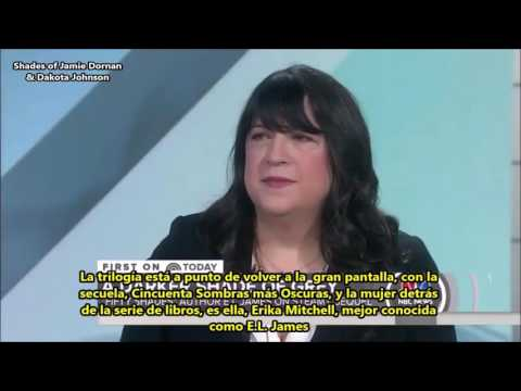 Interview with E.L. James + Behind the Scenes of 'Fifty Shades Darker' on Today Show (Sub.Español)