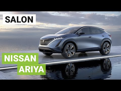 Nissan Ariya : le futur SUV électrique en direct de Tokyo