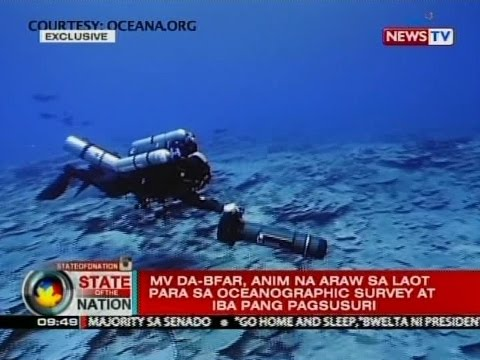 SONA: Mga eksperto, sinuyod ang bahagi ng Benham Rise sa tulong ng remotely operated vehicle o ROV