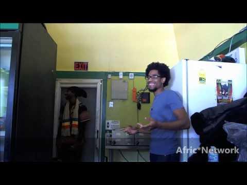Relaxing With The Rastaman - Irie Jamerican Cuisine
