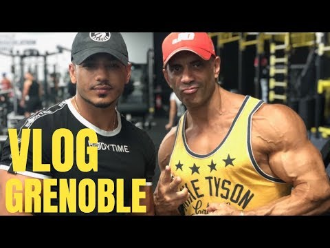 Vlog Grenoble : Ft Alex de Bodytime   Shoot Muscle And Fitness