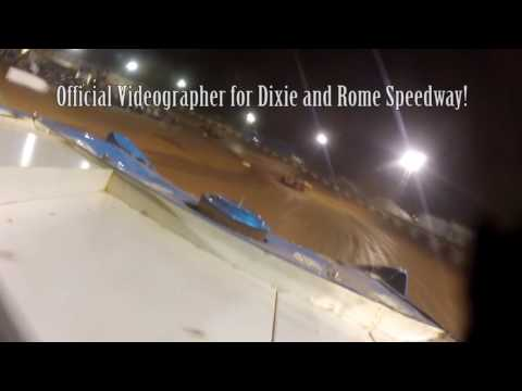 Rome Speedway 9/4/16 Econo Bomber Feature Ride Along with Taylor Cole #66!