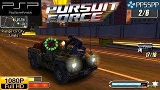 Pursuit Force - PSP Gameplay 1080p (PPSSPP)
