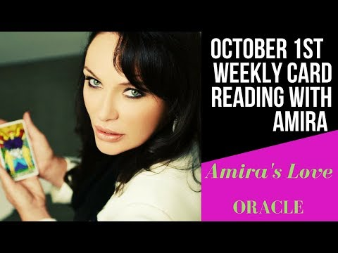 October 1st Weekly Channeled Love Oracle Reading With Amira💗💗