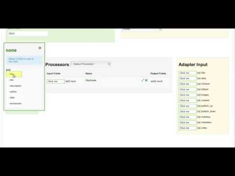 ObGrabber - Ultimate Grabber Joomla Extension - Fields Mapping