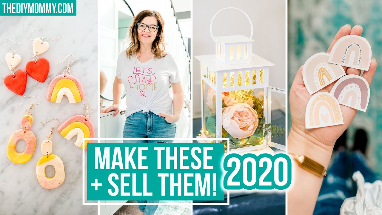 10 CRAFTS to MAKE and SELL in 2020