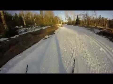 Cross Country Skate Skiing in Finland