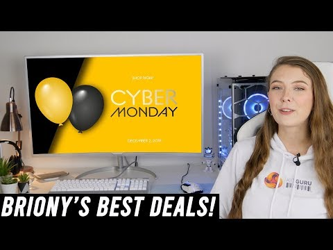 Briony's Best Cyber Monday 2019 PC tech deals!