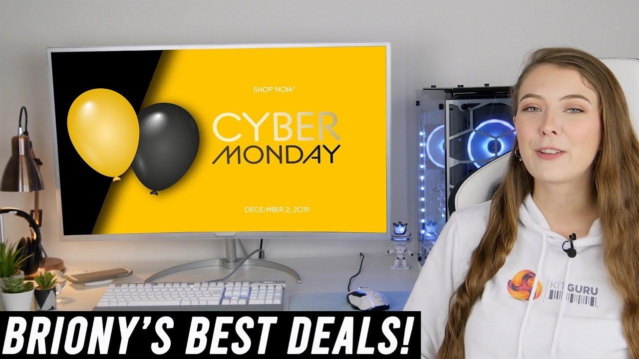 Briony S Best Cyber Monday 2019 Pc Tech Deals Youtube