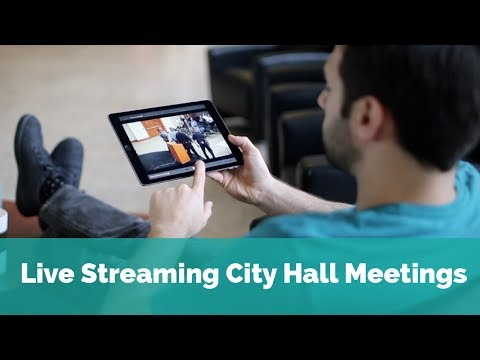 Live Video Streaming for Municipalities