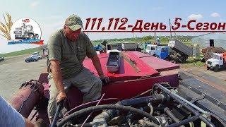 Палессе-GS12 больше не дымит, навешиваем компрессор на МТЗ-82. (111,112-День 5-Сезон)
