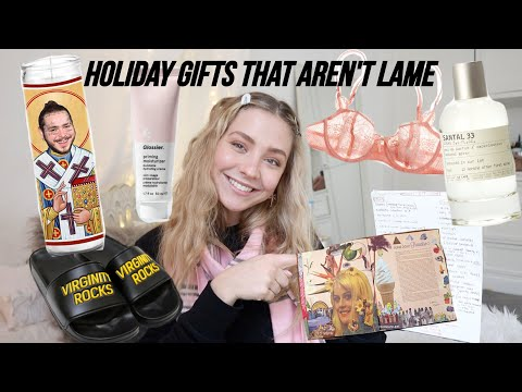Gift Guide 2019 // Gifts That Are Actually Cool
