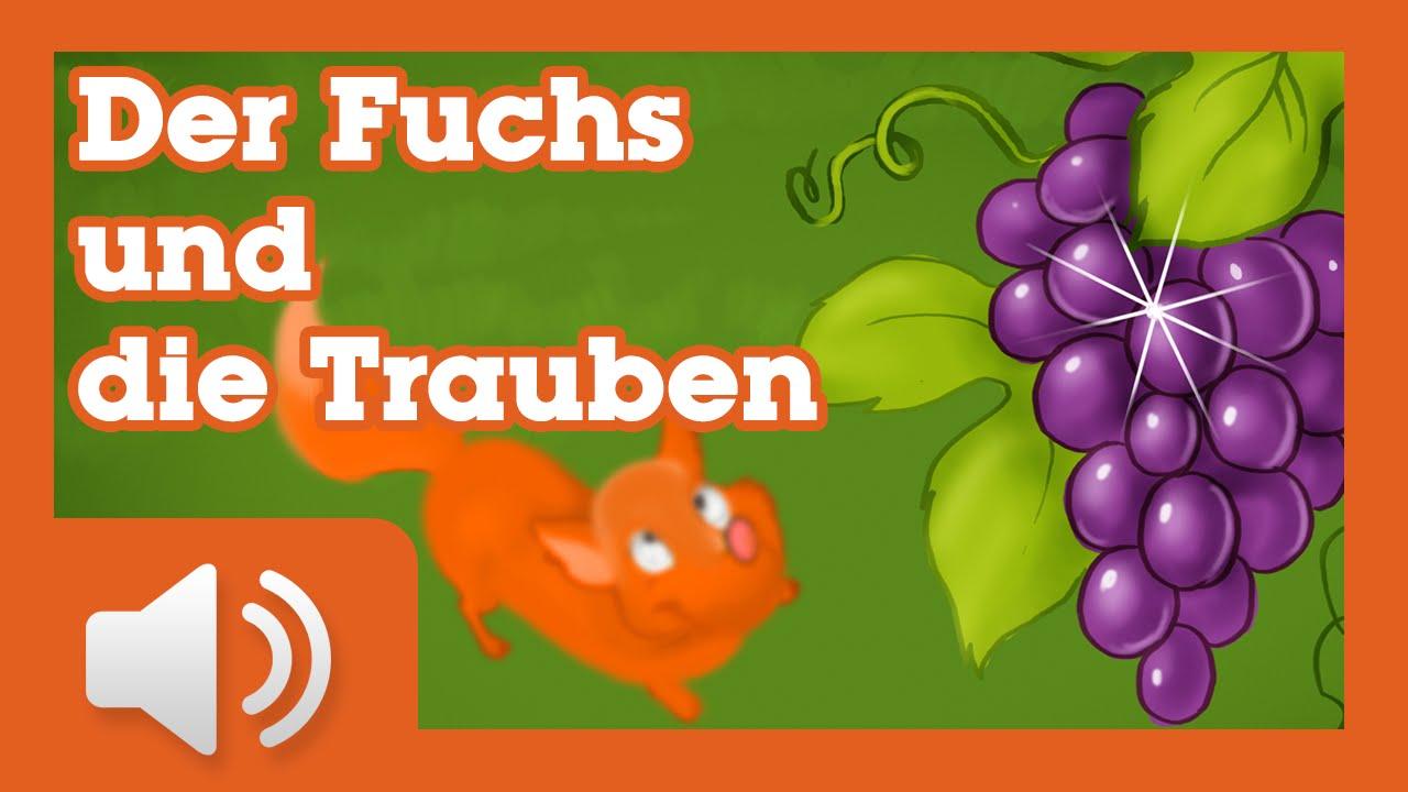 Der Fuchs und die Trauben - Märchen für Kinder ( Hörbuch auf Deutsch ...
