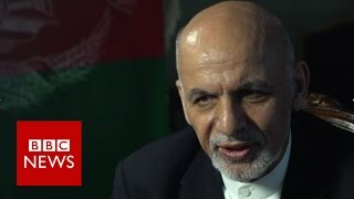 President Ashraf Ghani (FULL) interview - BBC News thumbnail