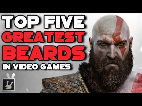 Top Five Greatest Beards in Video Games [300K Subscriber Special]