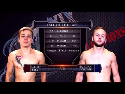 "Caged Aggression XIX ""Clash of Champions"" Night 1 Fight 5. Geoff Bell vs Jordan Gagne"