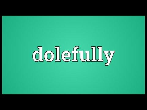 Header of dolefully