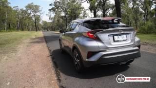 2017 Toyota C-HR (1.2T) 0-100km/h & engine sound